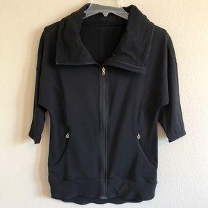 Lululemon Athletica Black Full Front Zip Jacket